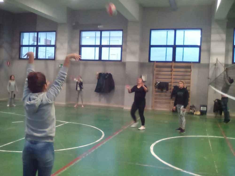 La Palestra è in uso alle scuole medie ed al Liceo dell'istituto Omnicomprensivo G.Libetta di Peschici, la palestra viene utilizzata per lo più per attività fisiche e motorie in quanto la sua altezza e dimensioni preclude lo svolgimento di attività agonistiche