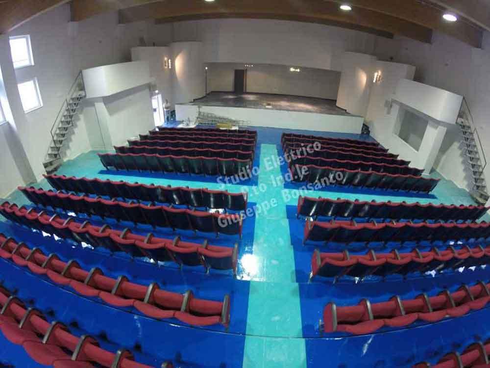 Il 16 Marzo del 2018 è stato inaugurato l'auditorium di Peschici, in uso all'istituto Libetta di Peschici