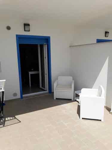 Veranda Blue House