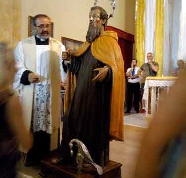 Messa al Trono Sant'Elia Profeta