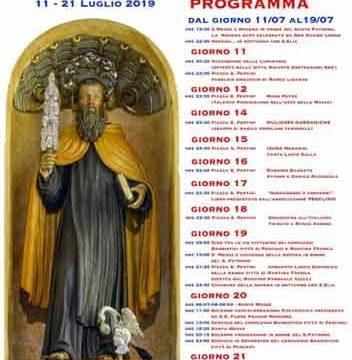 Programma Feste S.Elia