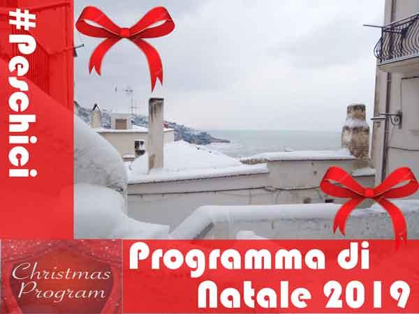 Programma Natalizio 2019
