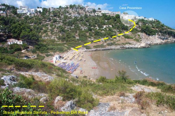 Spiaggia Procenisco