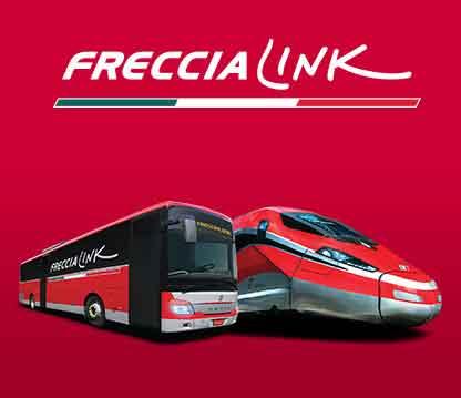Freccialink: Frecce + Bus in un'unica soluzione di viaggio