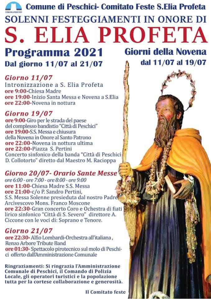 Festa di Sant'Elia 2021